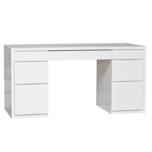 Kadon Large Console Writing Desk by Orren Ellis Modern