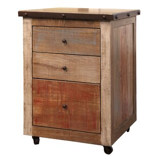 Stinchcomb 3 Drawer Vertical Filing Cabinet by Millwood Pines