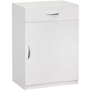 "ClosetMaid 34.72"" H x 240.2"" W x 15.24"" D Flat Panel Single Door and Drawer Base Cabinet"