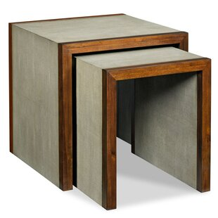 Savoye Shagreen 2 Piece Nesting Tables