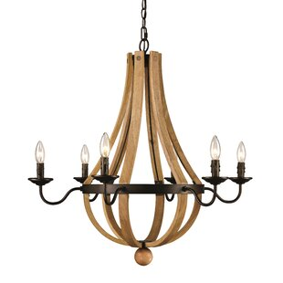 Laurel Foundry Modern Farmhouse Dimitri 6-Light Empire Chandelier