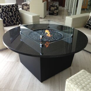 Riviera Aluminum Gas Fire Pit Table