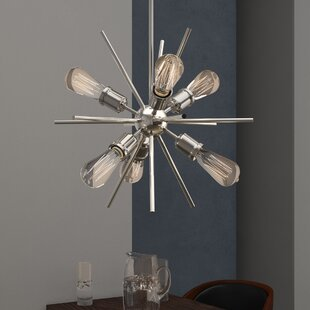 Affordable Berryhill 6-Light Chandelier By Langley Street