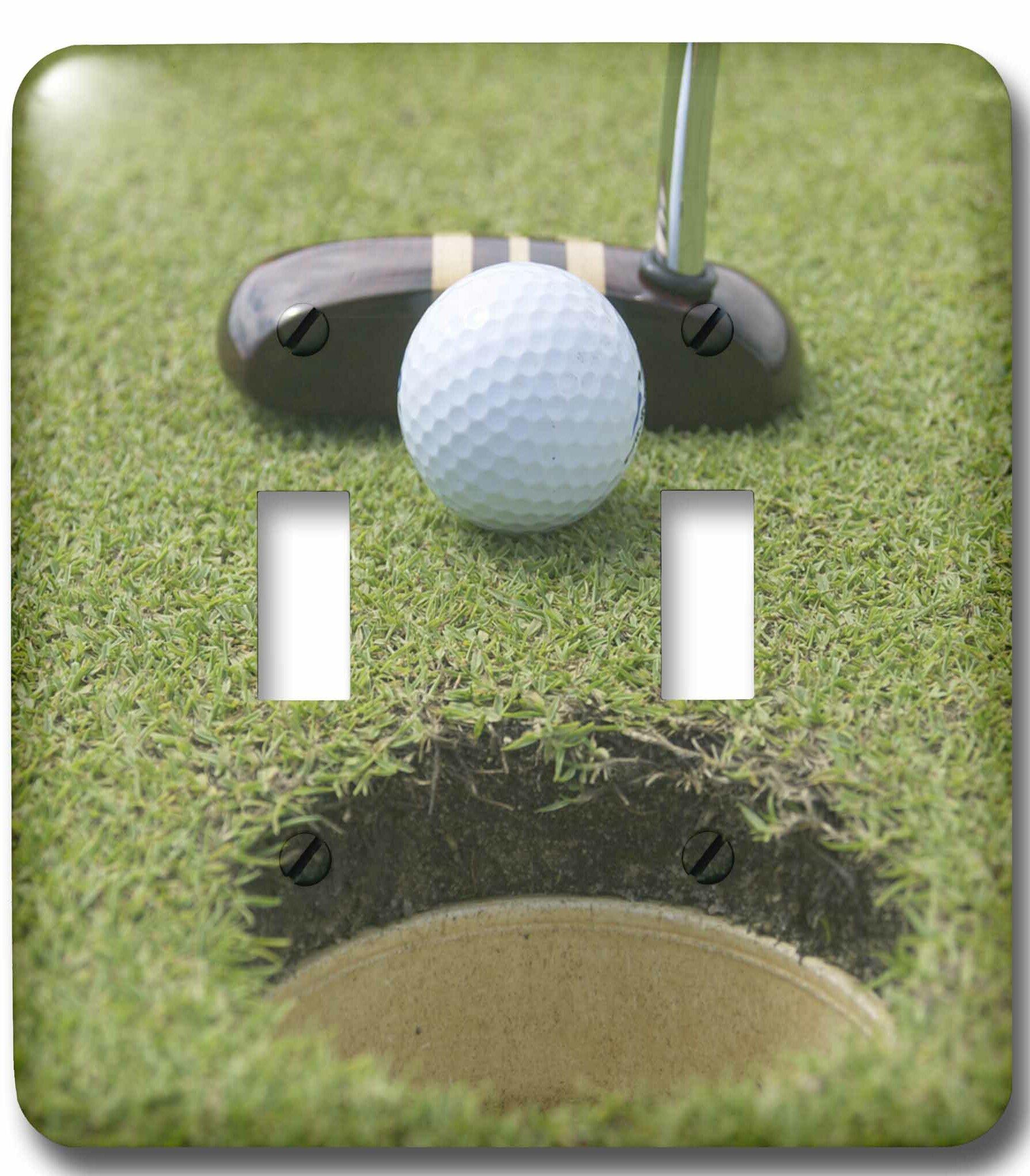 3drose Punta Blanca Golf Club 2 Gang Toggle Light Switch Wall Plate Wayfair