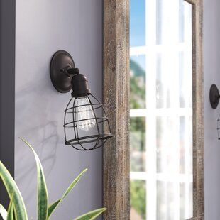 Reviews Shumpert 1-Light Wall Sconce By Trent Austin Design