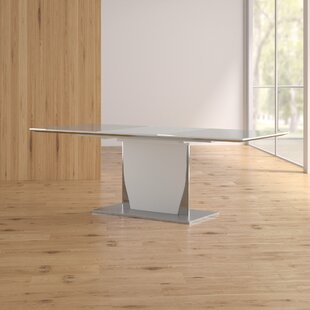 Wade Logan Snow Dining Table