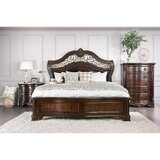 Menodora Queen 4 Piece Bedroom Set by Williams Import Co.