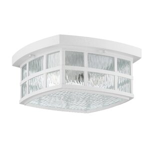 Cayman 2-Light Outdoor Flush Mount