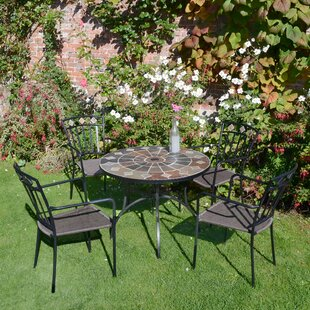 Hiebert 4 Seater Dining Set By Sol 72 Outdoor