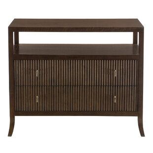 Haven 2 Drawer Bachelor's Chest by Bernhardt