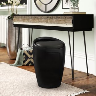Stool With Storage By 17 Stories