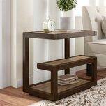 Aubin Floor Shelf End Table