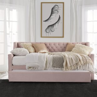 Shop For Monarch Hill Ambrosia Upholstered Twin Daybed with Trundle by Little Seeds Reviews (2019) & Buyer's Guide
