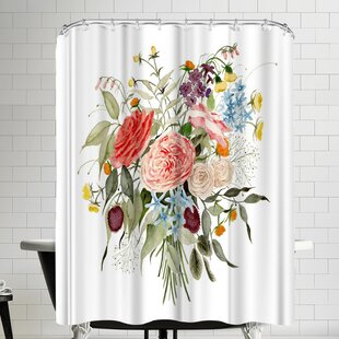 Affordable Tennessee Bouquet Shower Curtain ByEast Urban Home