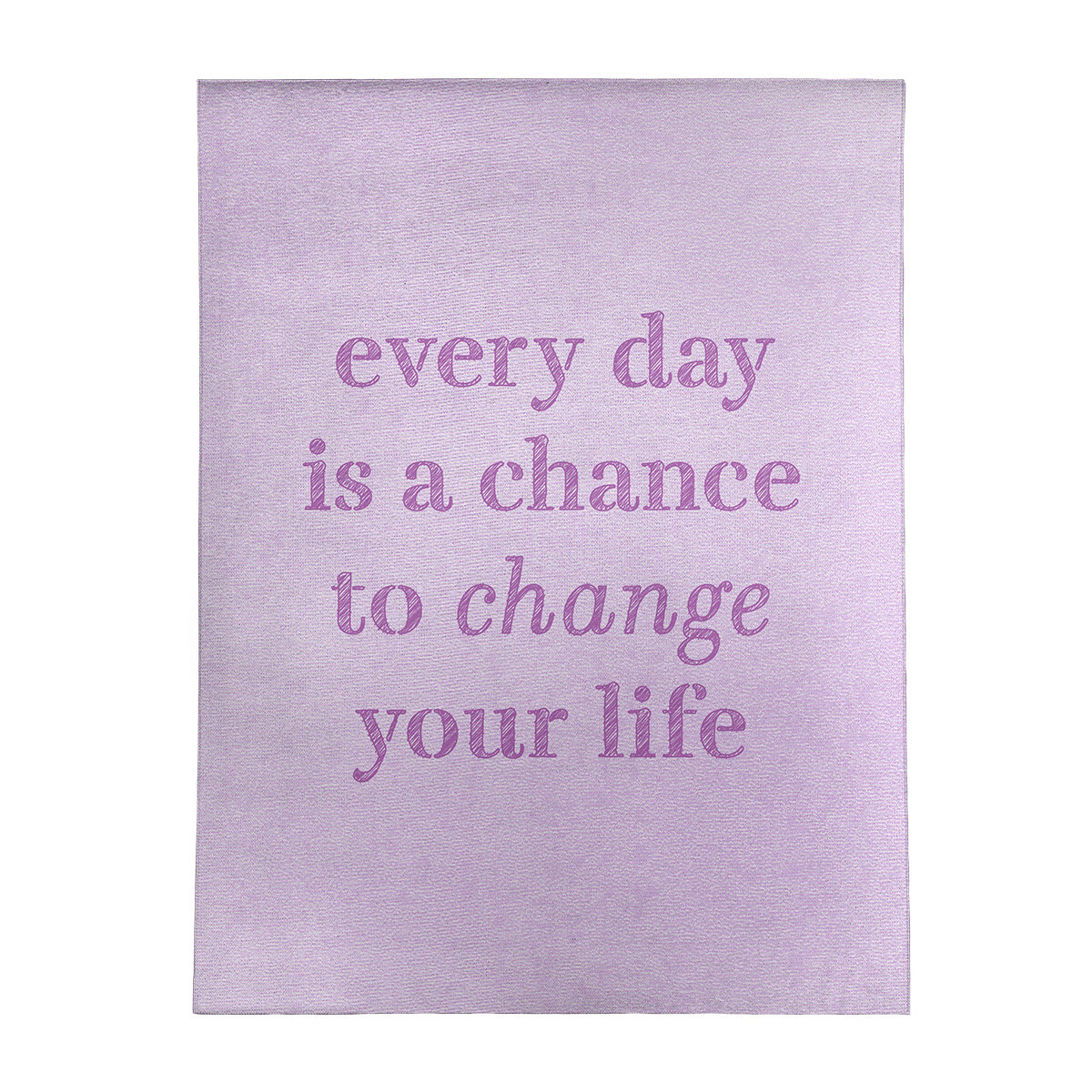 East Urban Home Handwritten Change Your Life Quote Poly Chenille Rug Wayfair