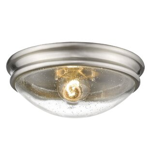 Breakwater Bay Scarlett 1-Light Flush Mount