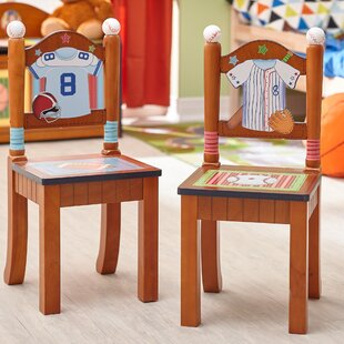 Little Sports Fan 2 Piece Kids Desk Chair Set by Fantasy Fields