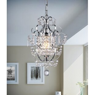 Dilley 1-Light Crystal Pendant