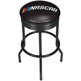 NASCAR Ribbed 28.5 Swivel Bar Stool by Trademark Global
