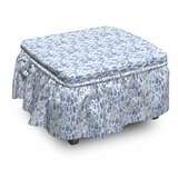 Herbs Ottoman Slipcover (Set of 2) by East Urban Home