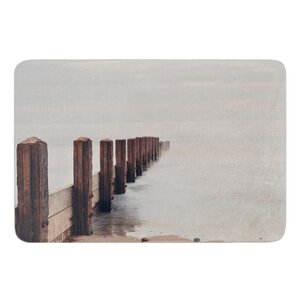 Brush Strokes by Laura Evans Bath Mat