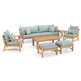Mcclellan 8 Piece Sofa Seating Group with Cushions