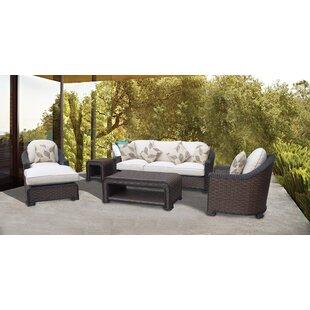 Gaia 6 Piece Sofa Set With Cushions