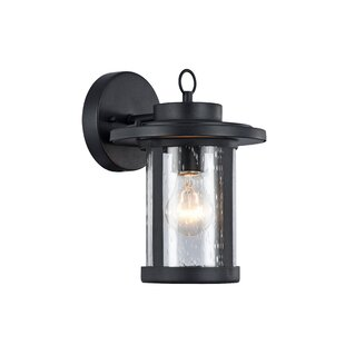 Compare prices Sandin 1-Light Outdoor Wall Sconce By Wrought Studio