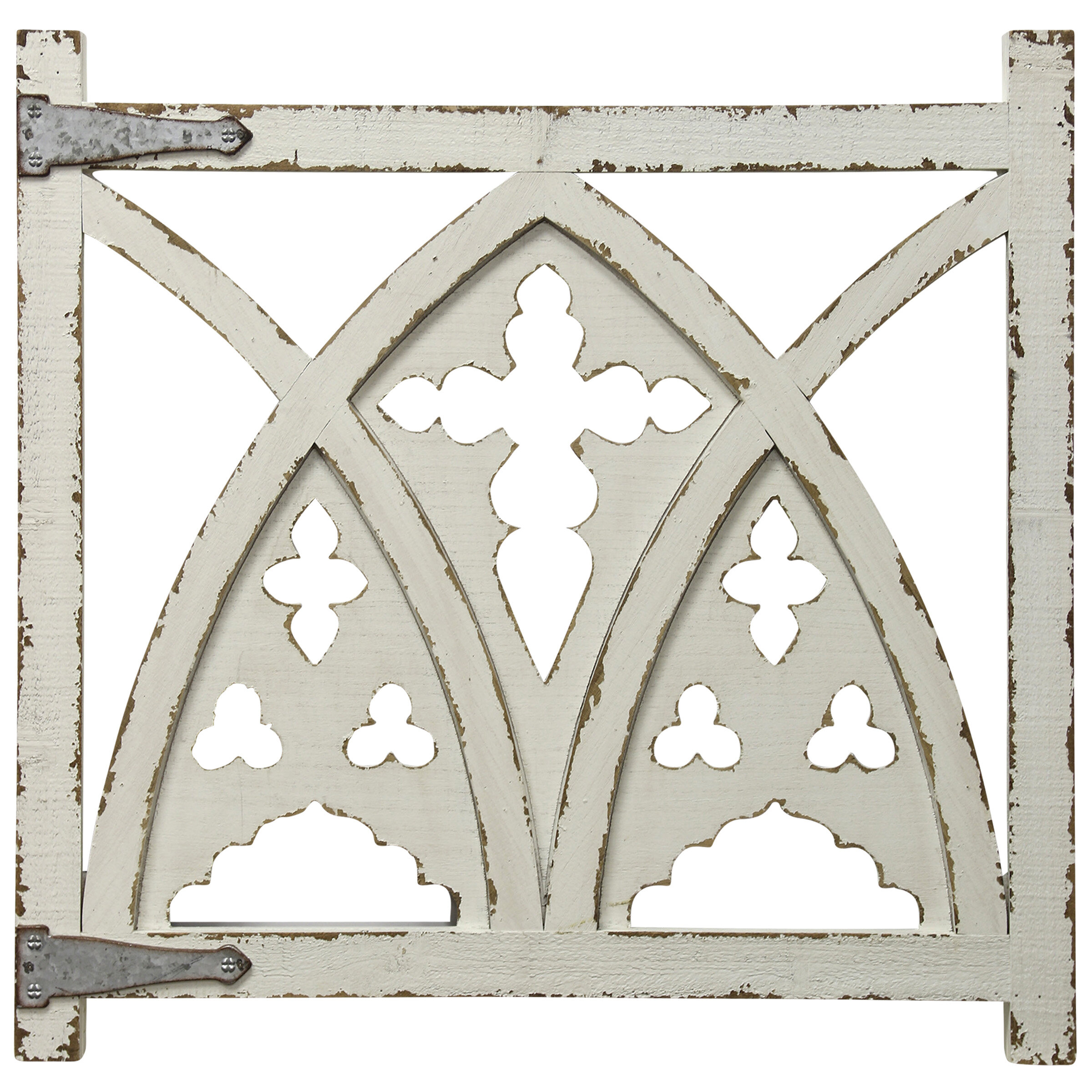Ophelia Co Gothic Arched Gate Wall