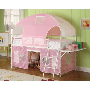 Find a West Brookfield Fairy Tent Bunk Configuration Bunk Bed with Fabric Covering by Zoomie Kids Reviews (2019) & Buyer's Guide