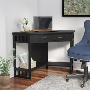 Noam Solid Wood Corner Computer Desk by Andover Mills