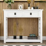 Coan 36 Solid Wood Console Table by Longshore Tides