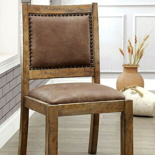 Reyes Upholstered Dining Chair (Set of 2) Gracie Oaks