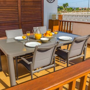 Samuel Metal Dining Table By Sol 72 Outdoor