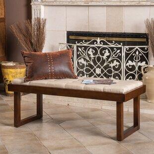 Home Loft Concepts Bayer Upholstered Bench