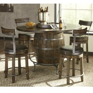 Wine Barrel Dining Set Wayfair