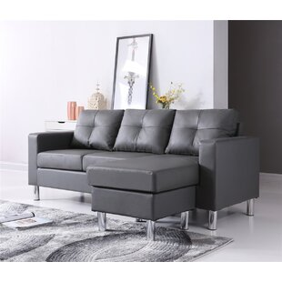 Marybelle Convertible Reversible Sectional with Ottoman by Zipcode Design
