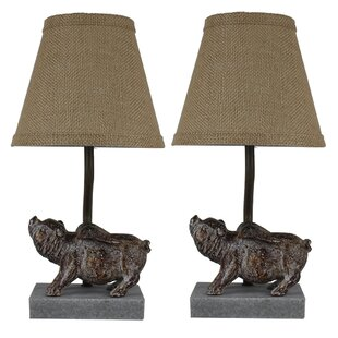 Shantel Flying Pig 14 Table Lamp (Set of 2)