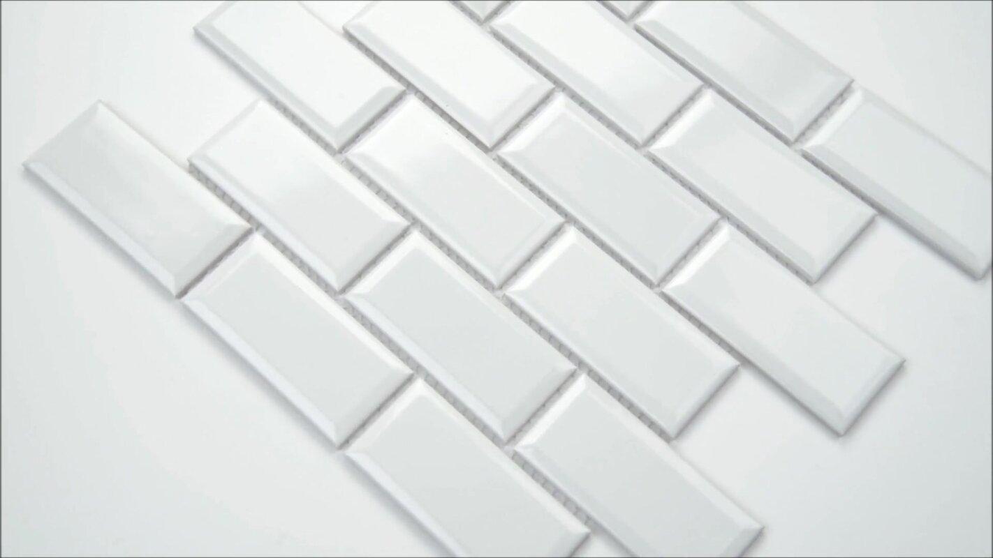Frost Bevel 2 X 4 Ceramic Subway