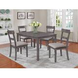 Grey Kitchen & Dining Room Sets You\'ll Love in 2019   Wayfair