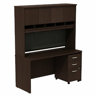 Bush Business Furniture Series C Desk with Hutch