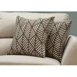 Jase Geometric Design Throw Pillow Set Of 2