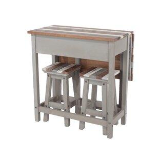 Free Shipping Worthington 3 Piece Pub Table Set