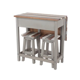 On Sale Worthington 3 Piece Pub Table Set