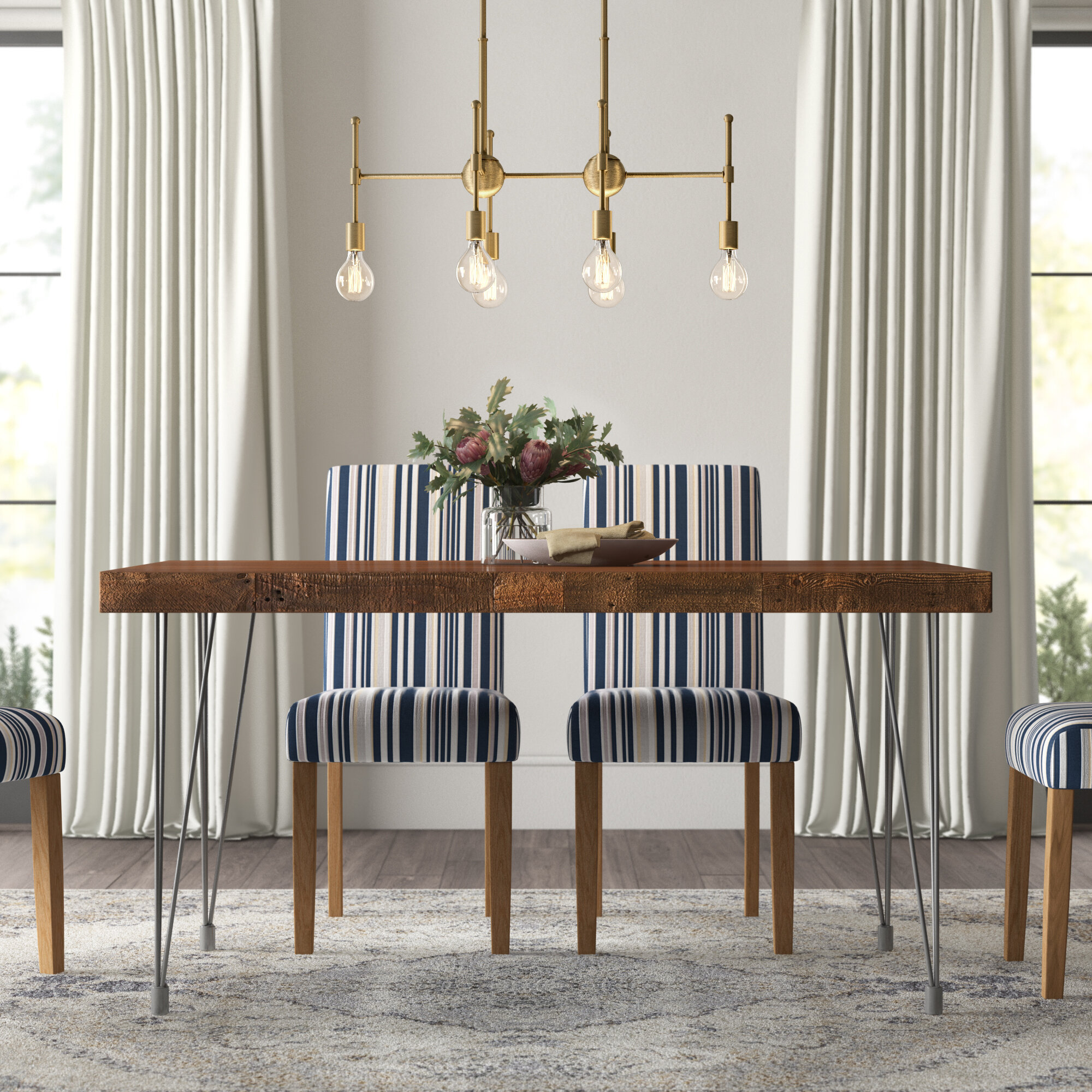 Therese Solid Wood Dining Table