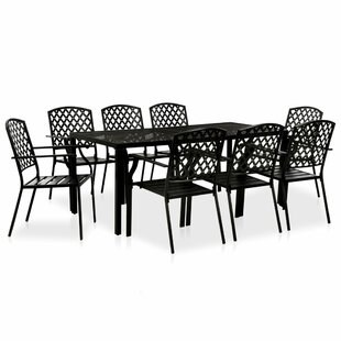 Emille 8 Seater Dining Set By Sol 72 Outdoor