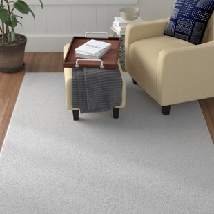 Great Price Mickelsen Solid White Area Rug By Winston Porter