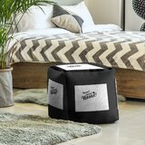 Home Sweet Denver Cube Ottoman by East Urban Home