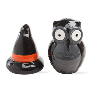 2 Piece Halloween Salt and Pepper Shaker Set