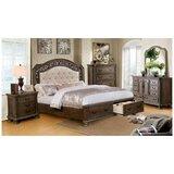 Whitt Queen Upholstered Platform 5 Piece Bedroom Set by Astoria Grand